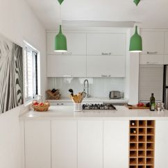 Kitchen Wine Rack Grey Chairs How You Can Incorporate Racks Into Your Design Without Wasting Island To Include Storage View In Gallery
