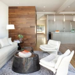 Wood Wall Living Room With Leather Couch Ideas Choose Accent Walls For A Warm And Eye Catching Decor View In Gallery