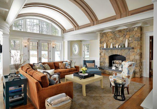 Slate Grey Sofa Living Room Decor