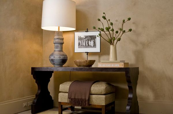 How To Decorate A Console Table Top Seeing The Forest