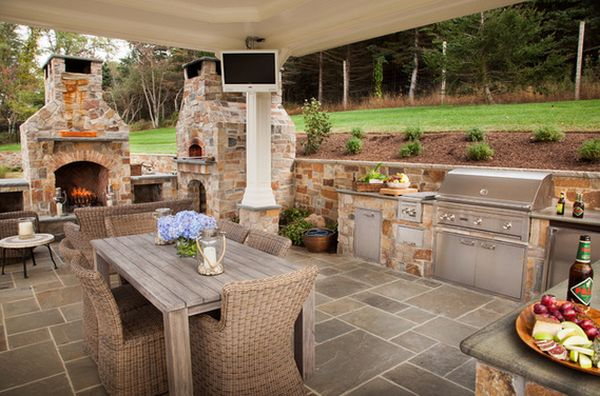 outdoors kitchen island lighting outdoor designs featuring pizza ovens fireplaces and other view in gallery