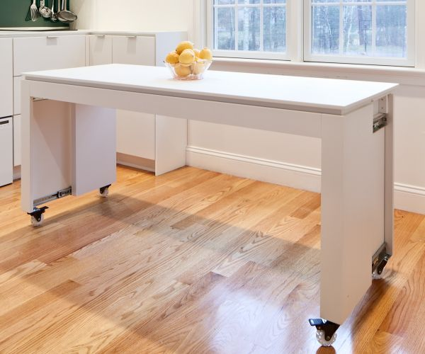 wheeled kitchen island faucet with side spray portable islands they make reconfiguration easy and fun view in gallery