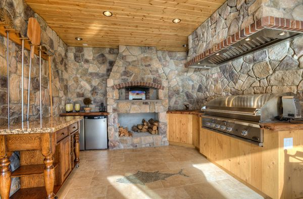 outdoor kitchen oven themed bridal shower designs featuring pizza ovens fireplaces and other view in gallery kitchens
