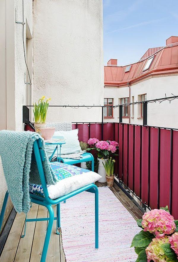 21 Charming Balconies Featuring A Scandinavian Design