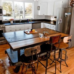 Kitchen Portable Island Stainless Islands They Make Reconfiguration Easy And Fun