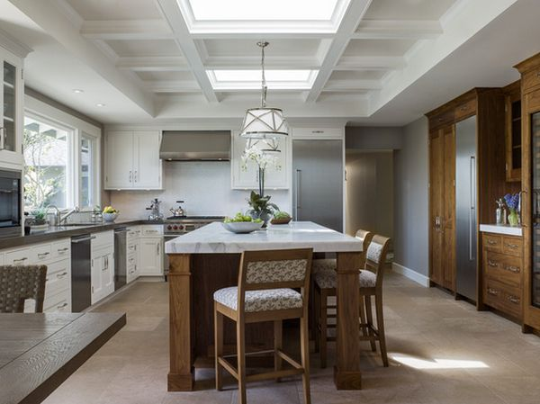 kitchen ceilings lighting for stylish ceiling designs that can change the look of your home view in gallery