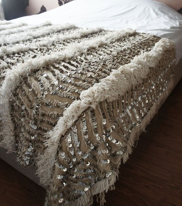 Using Sequins Around the House Ideas  Inspiration
