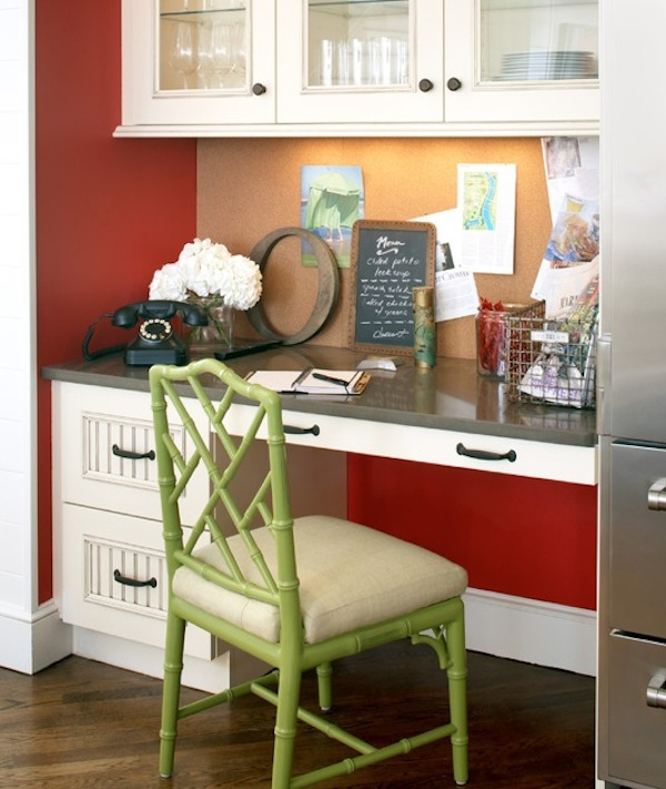 kitchen desk chair aid appliance 20 clever ideas to design a functional office in your