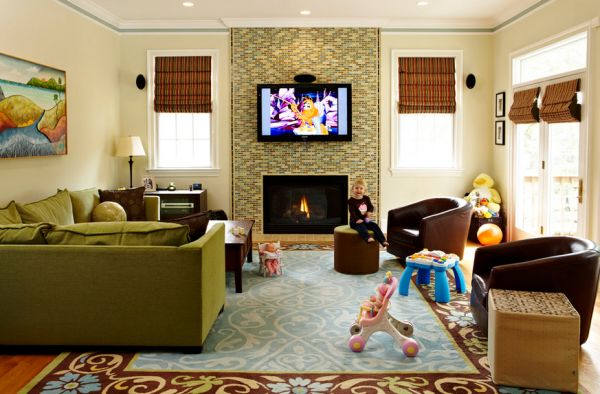 living room design ideas tv over fireplace theaters parking the pros and cons of having a