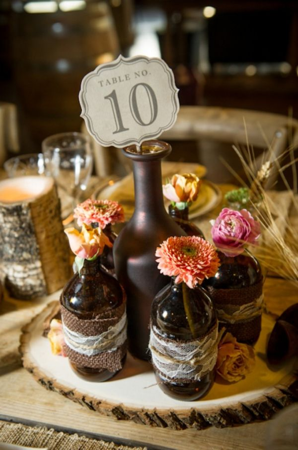 Wedding Table Centerpieces Without Flowers Crafty Design Ideas 13 Elegant So Cly