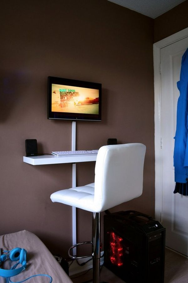 Get Things Done While Standing  10 DIY Standing Desk