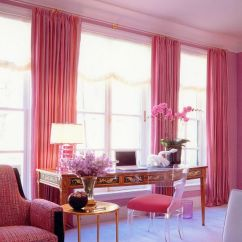 Formal Living Room Design Modern Furniture Designs Dipped In Bubblegum: Monochromatic Rooms