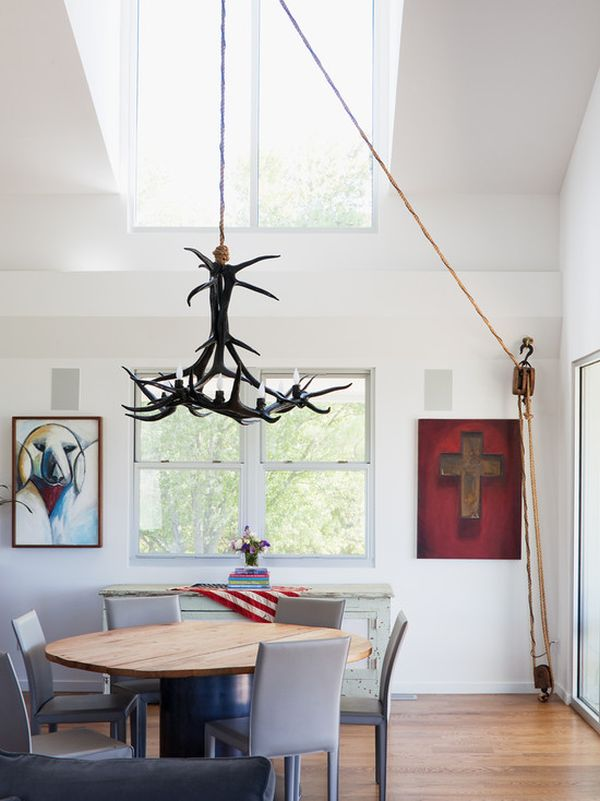 Add Rustic Charm To Your Home With RopeHanging Accent Features
