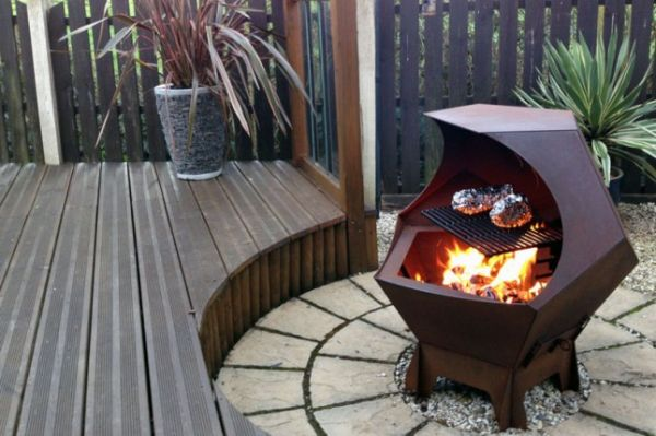 Furniture Pit Outdoor Fire