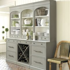 Distressed Kitchen Table Splashback Organized Buffets: Let's Look Inside & On Top
