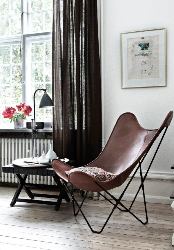 Leather Butterfly Chairs  Classical And Still Elegant