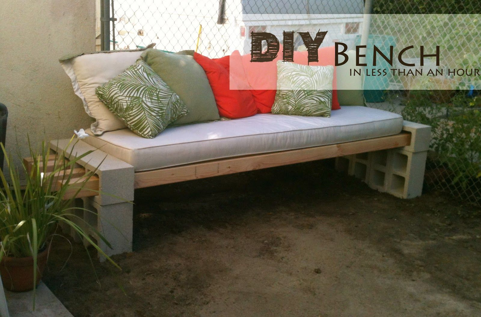 diy patio chairs teal wingback chair easy furniture projects you should already start planning bench