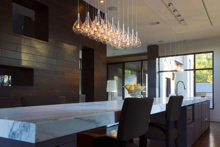 Modern Kitchen Pendant Lighting Trendy Appeal