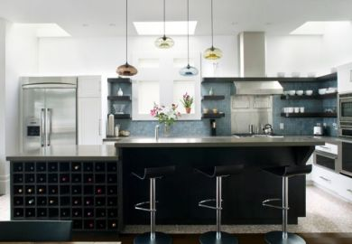 Kitchen Island Light Height