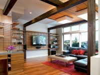20 Ways To Incorporate Wall-mounted TVs and Shelves Into ...