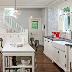 Center Island Kitchen Table Wusthof Shears The Low Down On Laminate Vs Hardwood Floors