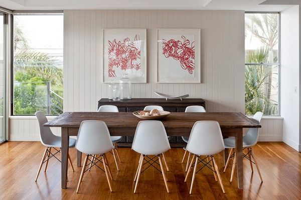 bertoia style chair cheap beach lounge chairs 10 unexpected combinations between modern and ...