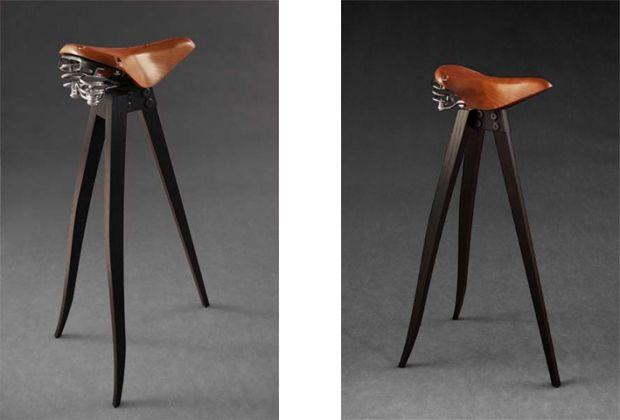 Saddle Stools  Ergonomic Seats With A Chic Western Twist