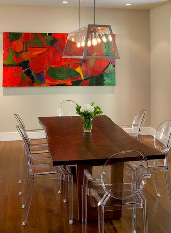 metal dining chairs round oak table and 6 10 unexpected combinations between modern country tables