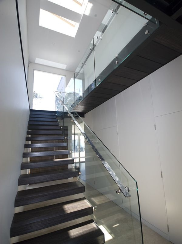 20 Glass Staircase Wall Designs With A Graceful Impact On The   Staircase Side Window Designs   Outside Window Frame   Architecture   Small Space   Two Story   Landing