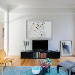 Casual Elegant Living Room Furniture Havertys 1915 Apartment Gets A Mid-century Modern Update