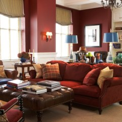Colour Schemes For Living Rooms With Brown Leather Sofa Top Color Dipped In Cranberry: Monochromatic
