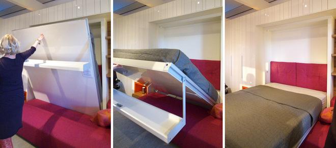 hideaway sofa bed garden sleeper reviews maximize small spaces: murphy design ideas