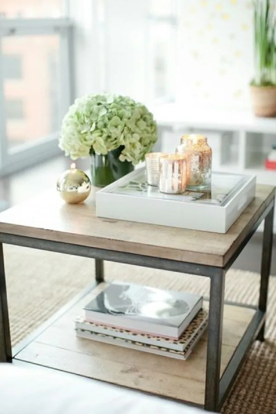 round coffee table tray decorating ideas How To Style Coffee Table Trays: Ideas & Inspiration