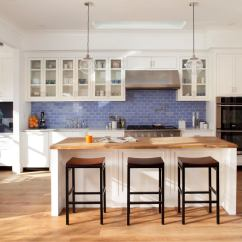 Blue Tile Backsplash Kitchen Lowes Faucets Delta Spruce Up Your Home With Color  Tiles For The