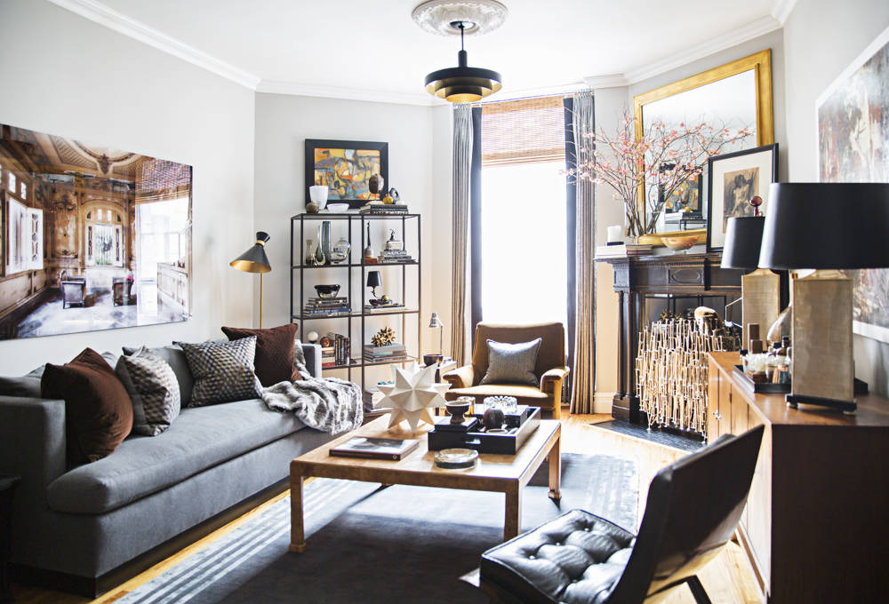 charcoal gray sofa bed sectional sofas houston tx historic one bedroom apartment gets a metropolitan new ...