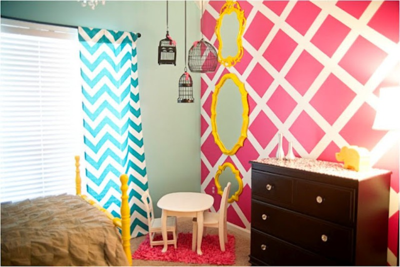 Bright Turquoise Wallpaper For Girls Room 25 Tips For Decorating A Teenager S Bedroom
