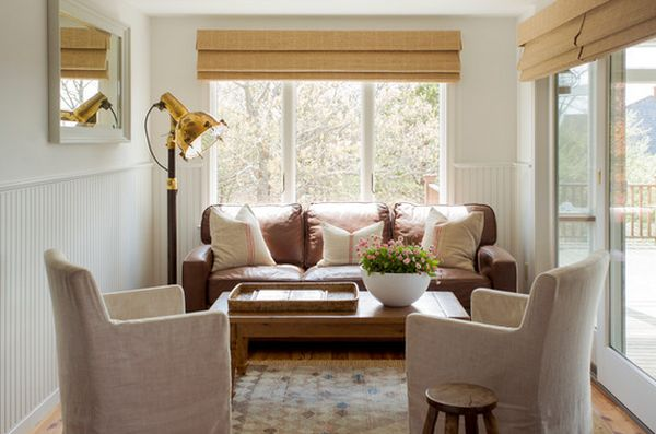 mixing leather and fabric furniture in living room for kids small ideas that defy standards with their ...