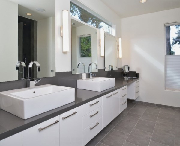 gray bathroom ideas How To Use Gray Around The House Without Making It Look Boring