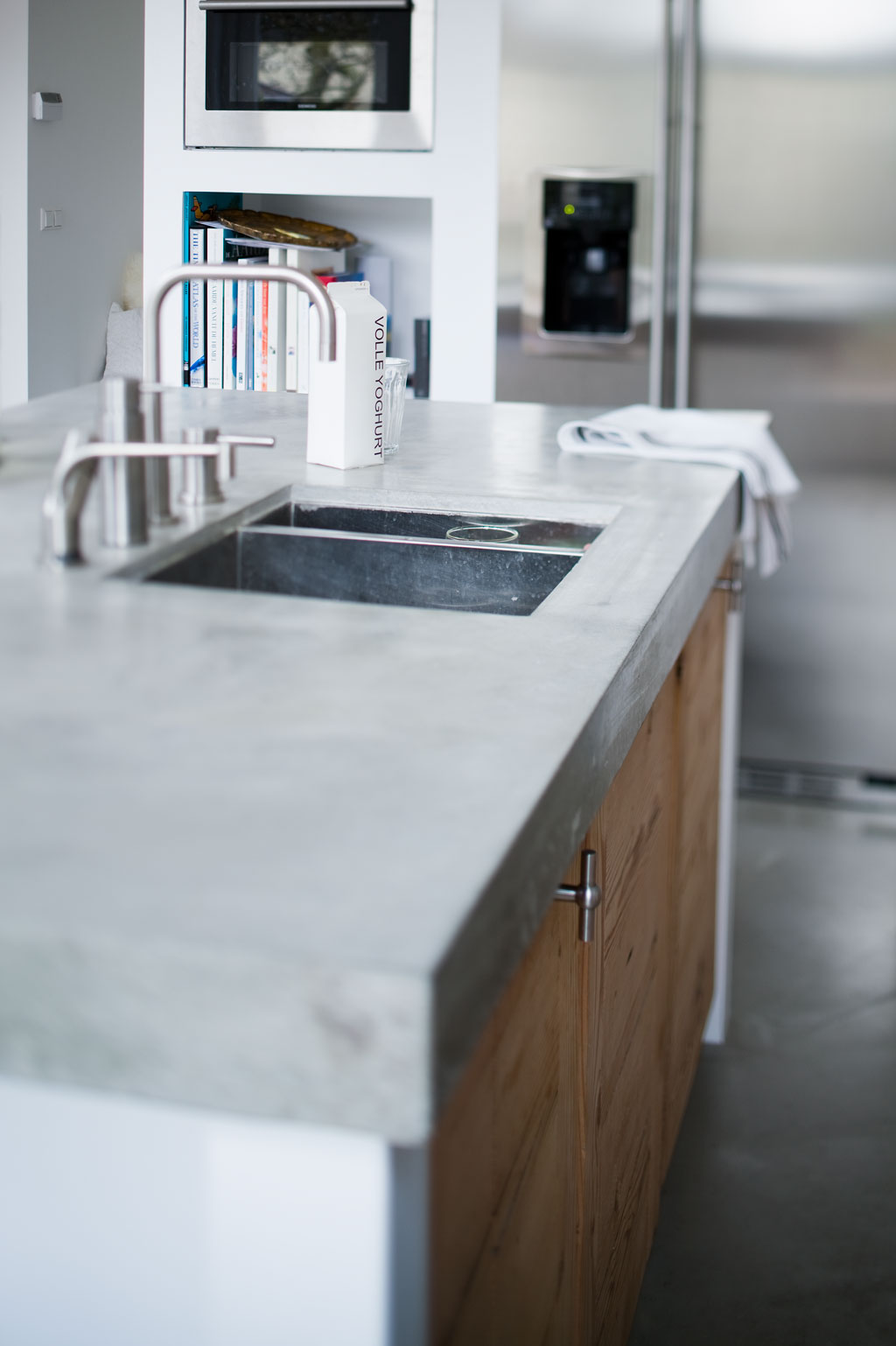 concrete kitchen countertops white island with stools 10 most popular