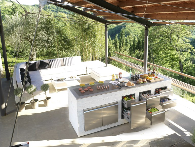 modern outdoor kitchen lighting for kitchens step out to enjoy the beauty