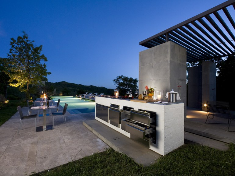 modern outdoor kitchen memory foam runner step out to enjoy the beauty kitchens