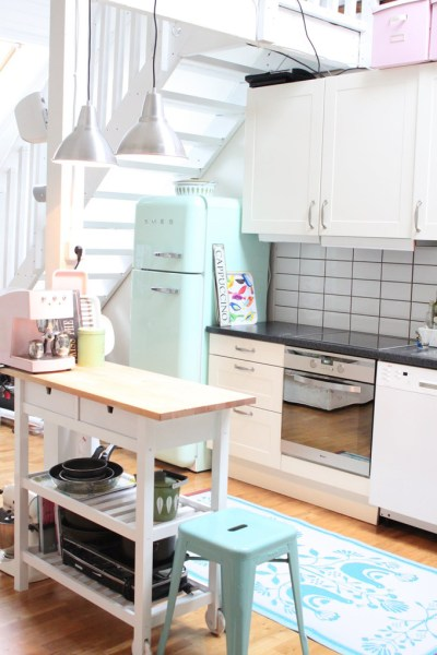 pastel kitchen A Grown-Up Take on Decorating with Pastels