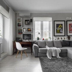 Large Corner Sofa In Small Living Room 2 Ideas Compact Bachelor Pad Captures All The Right Details An ...