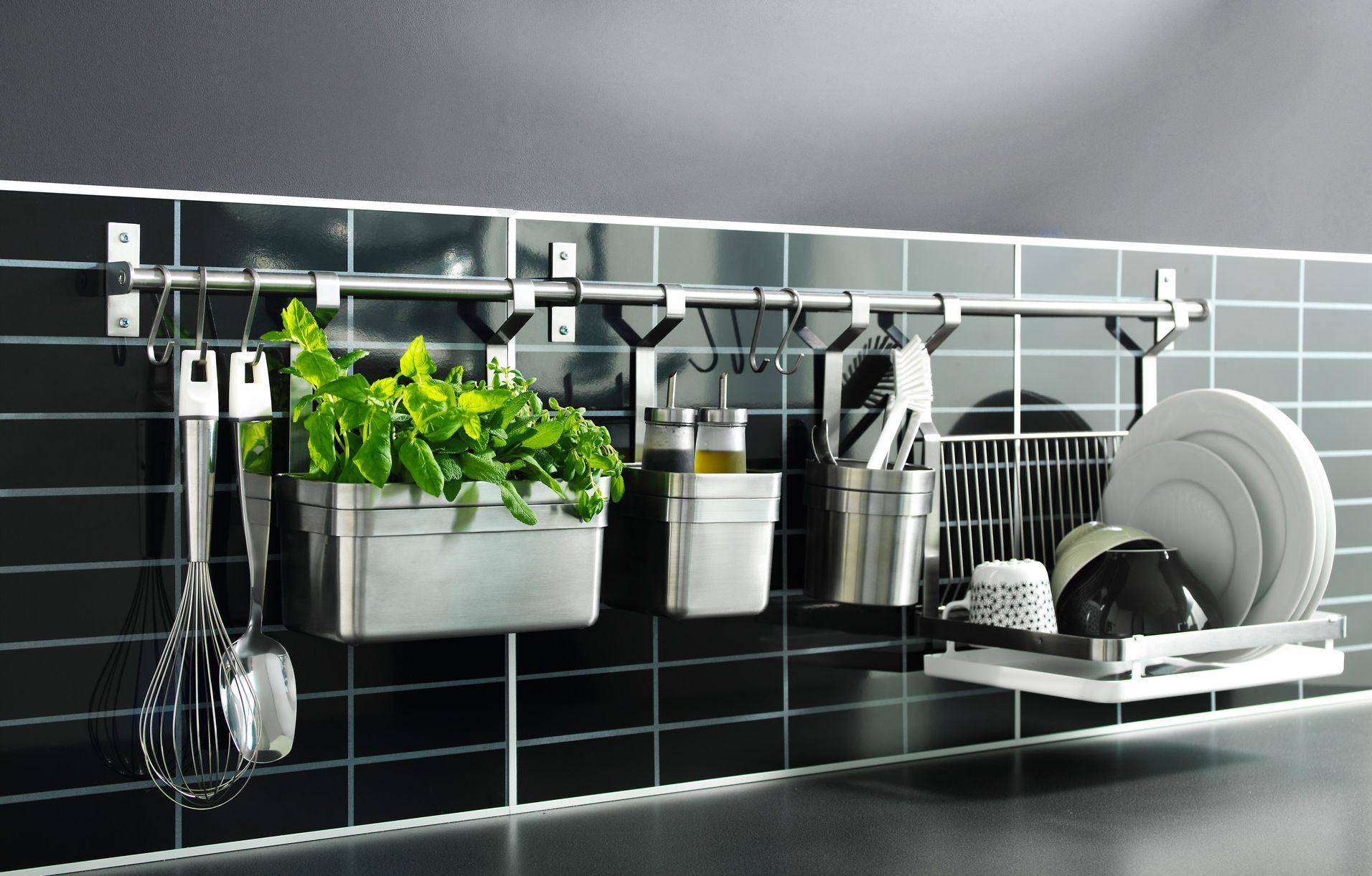 ikea kitchen rack outdoor storage cart 65 ingenious organization tips and ideas wall