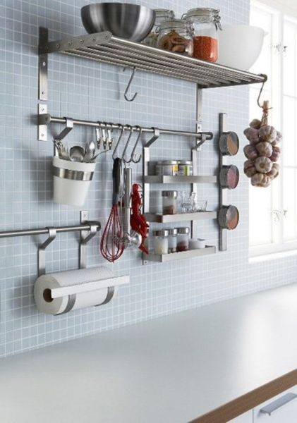 ikea kitchen hanging storage 65 Ingenious Kitchen Organization Tips And Storage Ideas