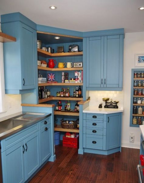 corner kitchen pantry cabinet Design Ideas And Practical Uses For Corner Kitchen Cabinets