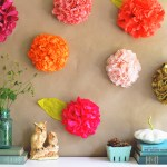 Diy Tissue Paper Flower Backdrop How To Make Tutorial