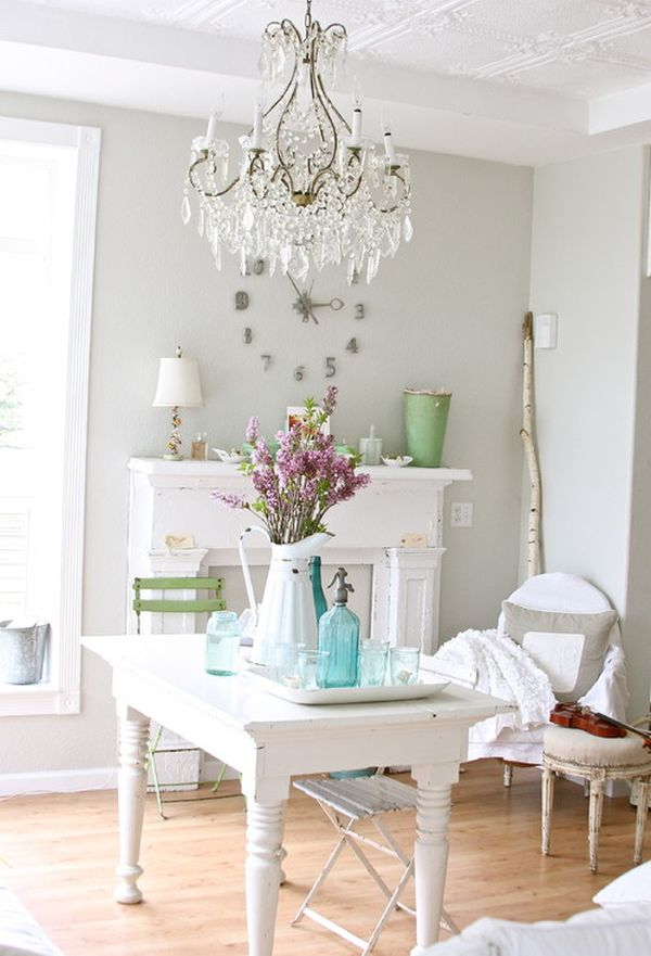 Feminine Shabby Chic Nook Ideas for Your Home
