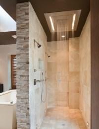 Doorless Walk In Shower Designs Snail Shell