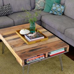 Sam Sofaer L Shaped Leather Sofa India Diy Pallet Table With Hairpin Legs